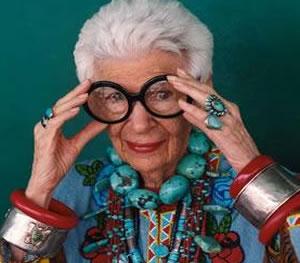 Anciana pero glamurosa