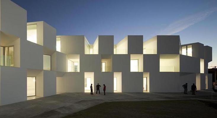 Residencia de mayores con diseño vanguardista