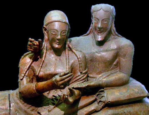 El sarcófago etrusco