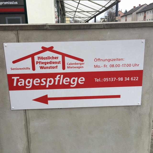 Entrada al centro de día de mayores en Hannover