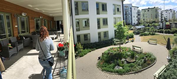 Unidad de convivencia en residencia de ancianos en Estocolmo