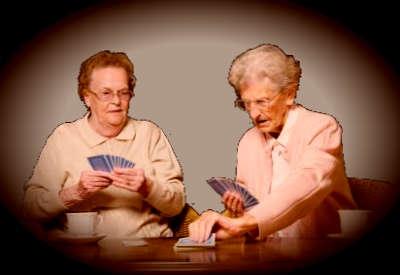 Jugando a  cartas y haciendo confesiones