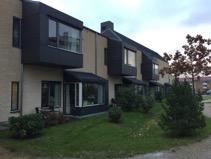 Una residencia de tercera edad en Copenhague con diseño en unidades de convivencia