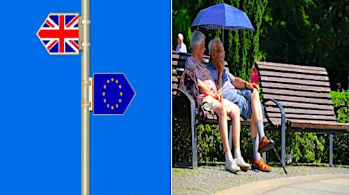 brexit, permisos de residencia y mayores
