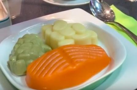 comida texturizada en las residencias geriátricas