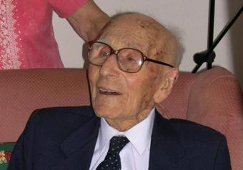 El español que más tiempo ha vivido es Joan Riudavets
