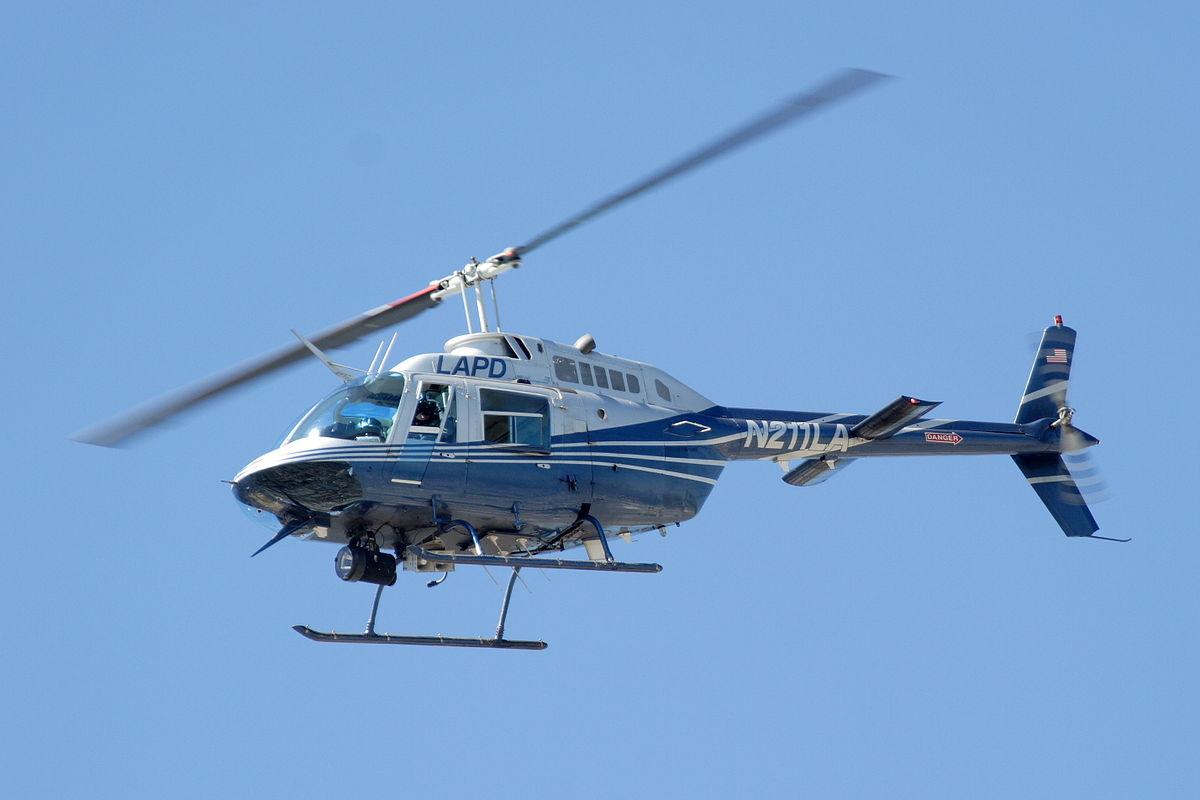 Helicóptero rescate o persecución