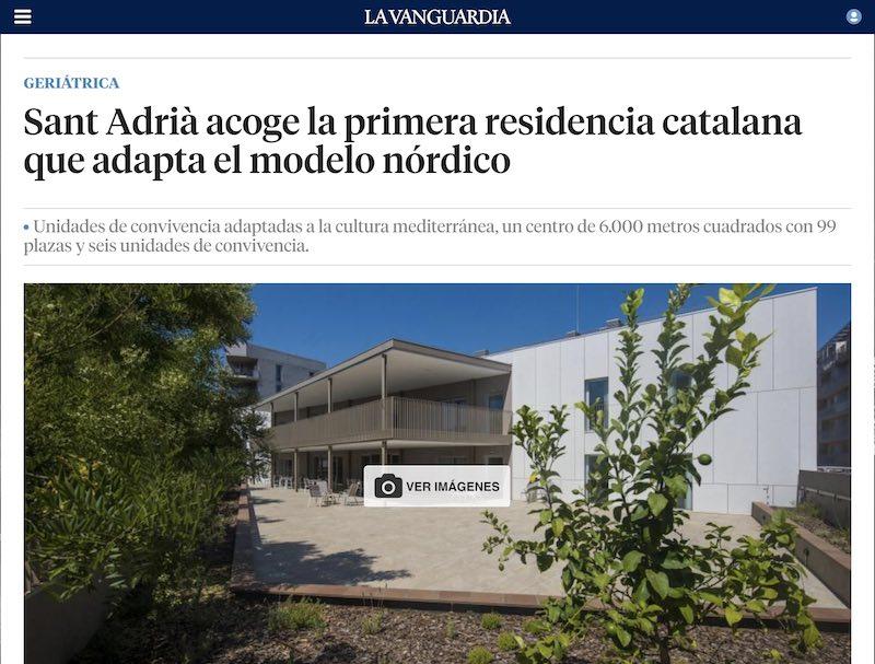 Residencia Barcelona Unidades convivencia Sant Adrià Besós