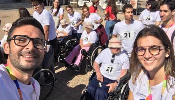 Carrera solidaria Amavir en Lanzarote