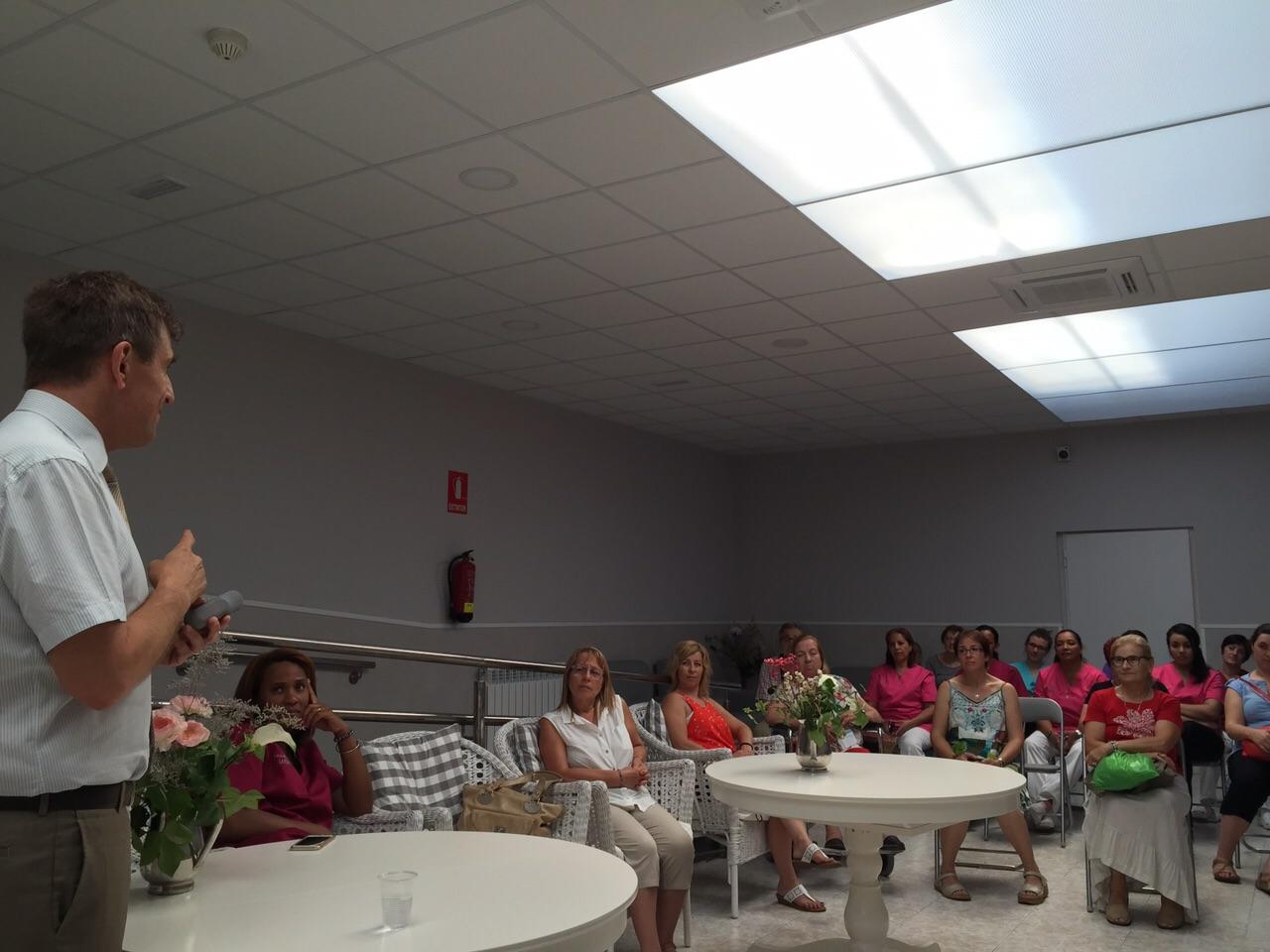 Conferencia de Josep de Martí en la Font