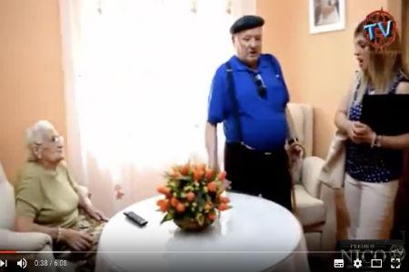 Cortometraje en residencia de ancianos