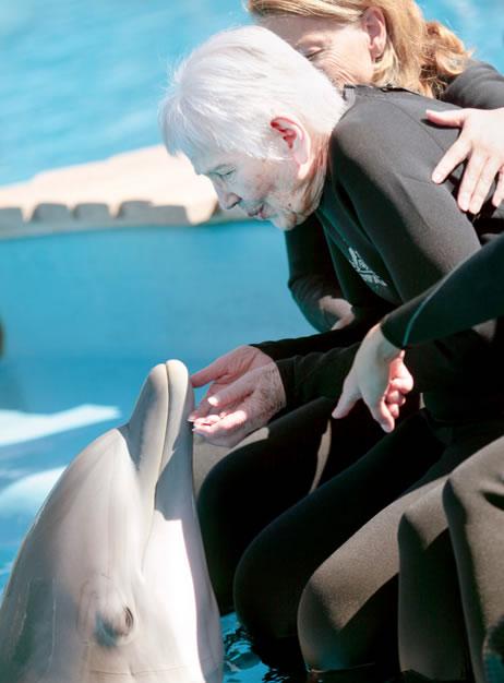 Uso de animales como terapia en residencias de ancianos