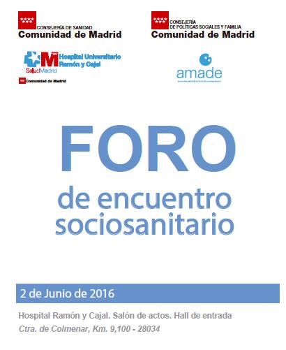 Foro Sociosanitario de Madrid