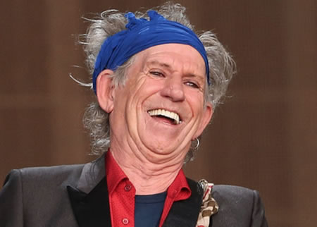 Keith Richards saca disco a los 74 años