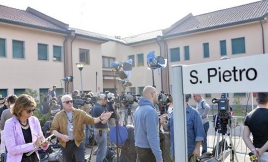 Residencia de ancianos en la que trabajó Berlusconi