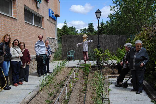 Un goya para la residencia de mayores los llanos vital for Residencia el jardin madrid