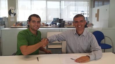Firma de acuerdo entre VL Fundació Vella Terra i Quvitec